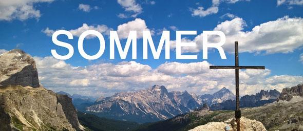 Sommerprogramm Bergführer Tobias Stampfl, Kletterkurse, Alpinkletterkurse, Hochtouren, Hochtourenkurse, geführte Klettersteige mit Bergführer