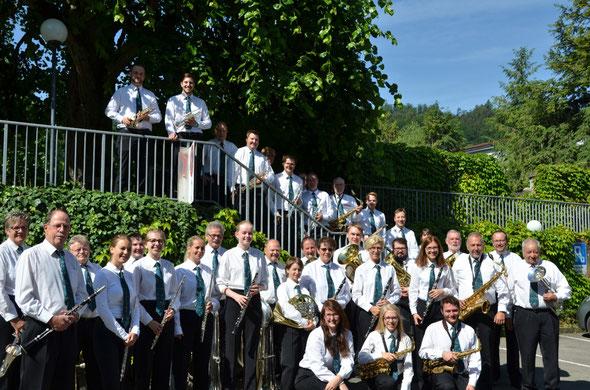 Gruppenfoto vor dem Auftritt (Foto by Dominik Hänni)