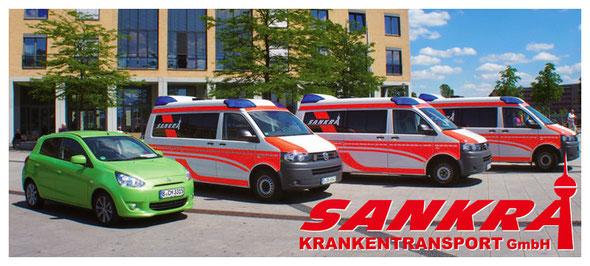 Krankentransport mit GPS Ortung, Fahrzeugortung