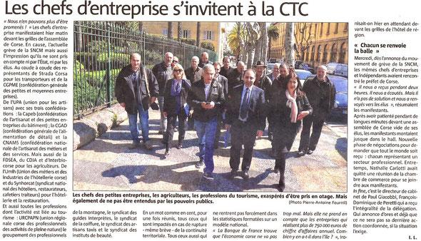 Corse matin (29/03/2014)
