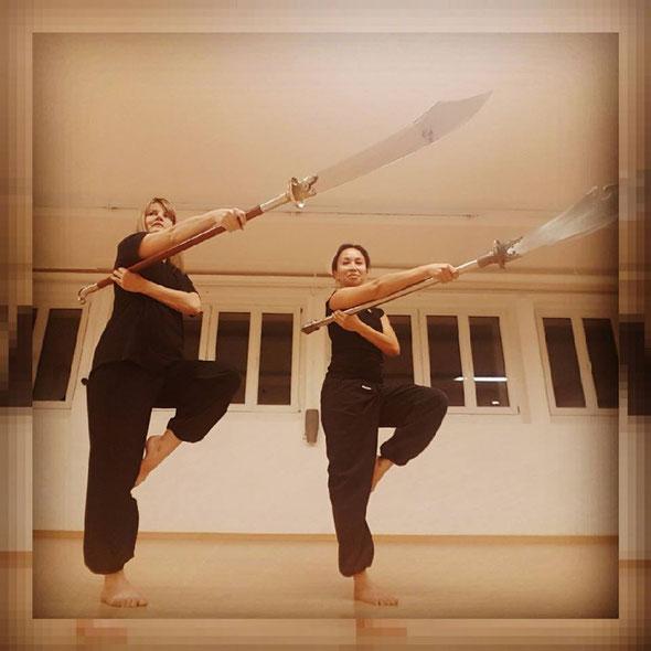 Meine Interpretation des Kung Fu. Tigress Yoga, die Symbiose von Power Vinyasa Yoga &  Kung Fu. Ideal für sportliche Anfänger. Yoga Ausbildungen & Weiterbildungen für Yogalehrer, Physiotherapeuten & Sportprofis. In Zürich Oerlikon.