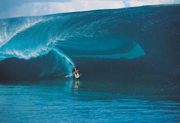 Millenium wave - Tahiti 2000