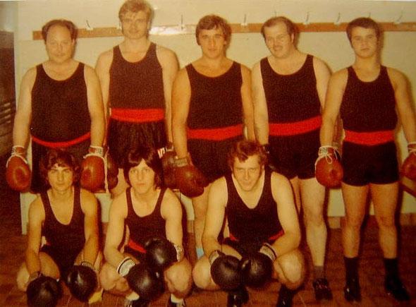 Aktive Boxer des Box Club Sissach aus der guten alten Zeit