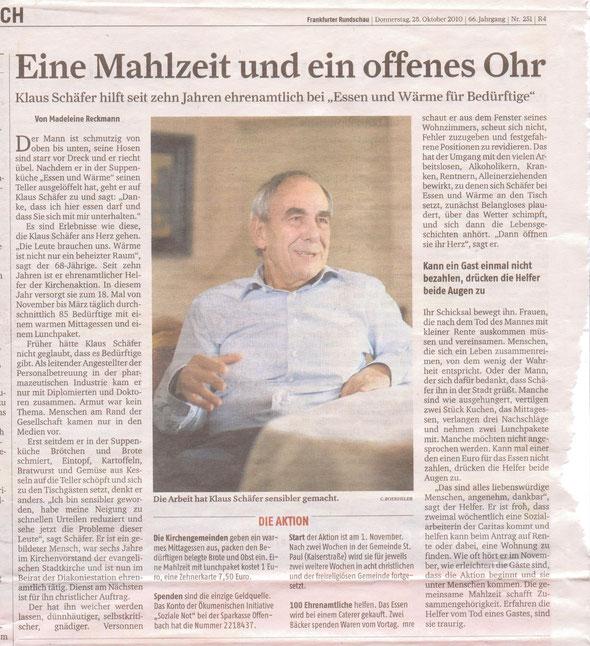 Frankfurter Rundschau 28.10.2010