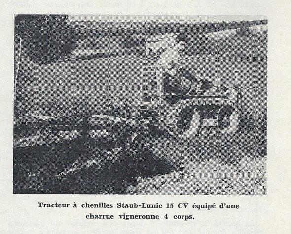 """Sur le magasine 'Le Marchand réparateur de tracteurs et machines agricoles"""" du mois de Septembre  1962"""