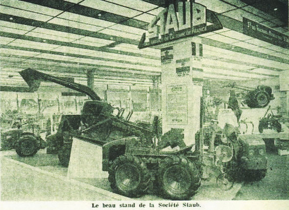 "Photo du stand Staub sur ""Le Marchand réparateur de machines agricoles """