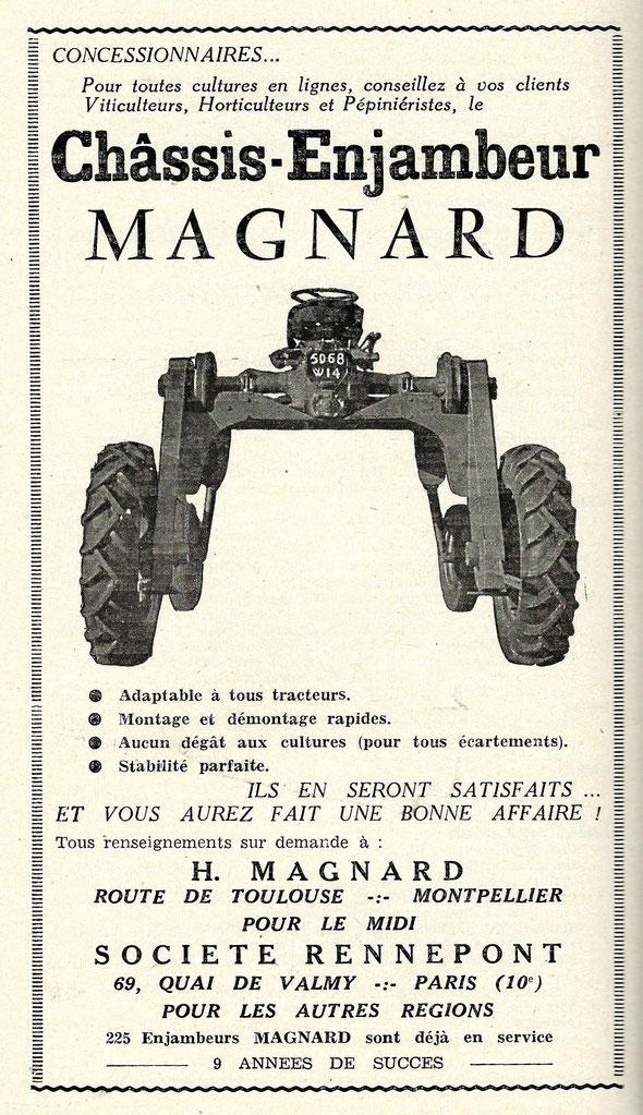 Publicité de 1959