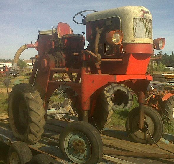 Tracteur Enjambeur Lescure