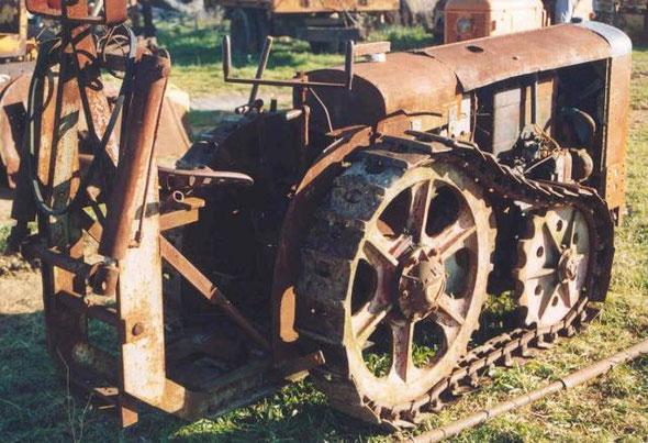 Tracteur Georges Vidal  récupéré par l'association LOU REC à Sainte Croix de Quintillargues