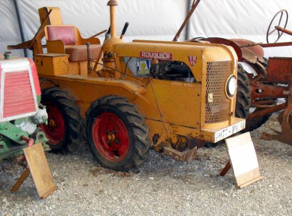 Au musée du machinisme agricole de la Bouriane de Salviac (Lot).