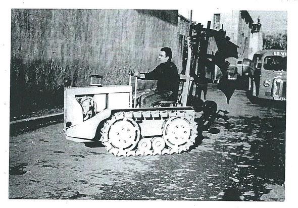 Tracteur Le Vini moteur Bernard