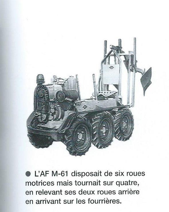 """Texte et photo extraits du livre """"Encyclopédie des tracteurs fabriqués en France des origines à nos jours """"de Christian Descombes"""