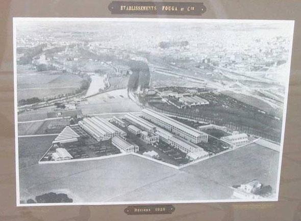 Etablissements Fouga et Cie Béziers 1920