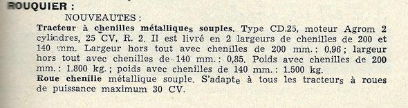 1959 année prolifique chez Rouquier !