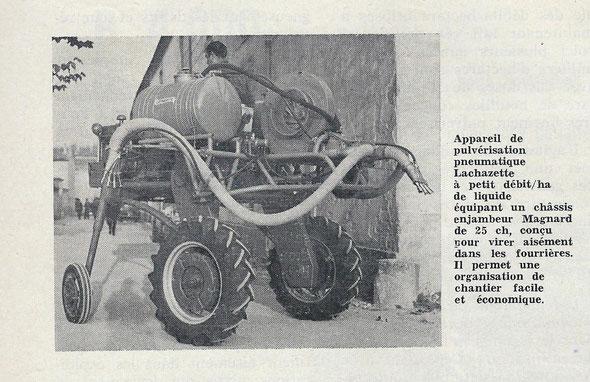 """Le Marchand Réparateur de Tracteurs et de Machines Agricoles """" du mois de Septembre 1962."""