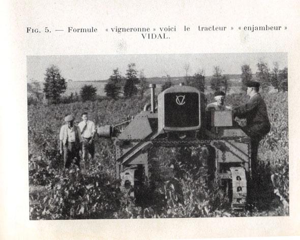 """Photographie sur le livre """"Motoculture et motorisation des travaux agricoles"""" de Delasnerie édition 1954"""