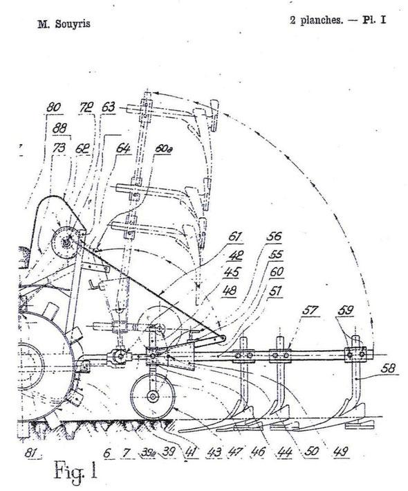 Tracteur Souyris