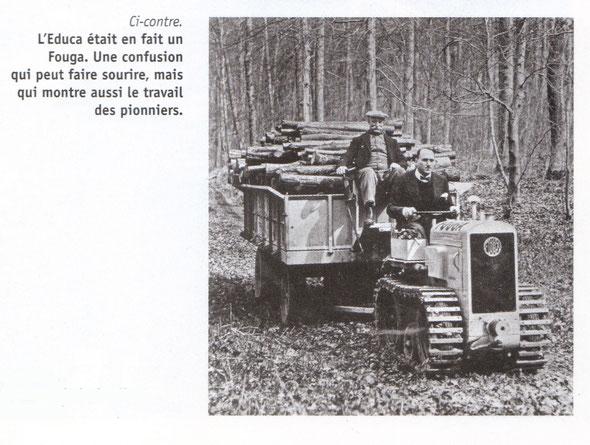 """Extrait de l'article sur """"Tracteur  Passion et Collection """""""