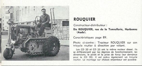 """Sur le livret """"Motoviticulture"""" de 1963"""