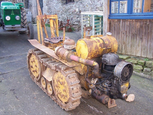 Le même Le Vini, photo du forum Tracteurs et Motoculteurs d'Antan .
