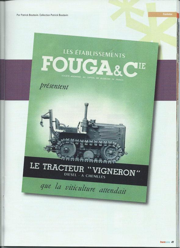 """Article sur la revue """"Tractorama"""" n°1"""