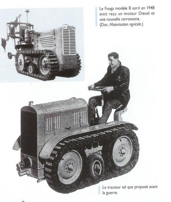 """Sur le livre """"100 ans de tracteurs à chenilles"""""""