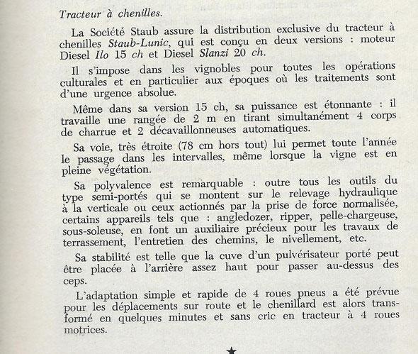 """Sur 3 Le Marchand Réparateur de Tracteurs et de Machines Agricoles """" du mois de Septembre 1962."""