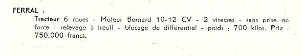 Livret motoviticulture de 1958