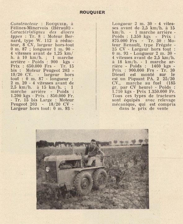 """Livre """"La Motoviticulture"""" Octobre 1956"""