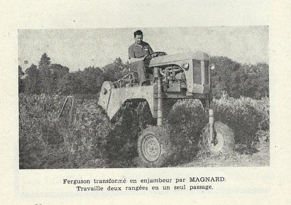 """Sur un livret """"Motoviticulture"""" de 1968"""