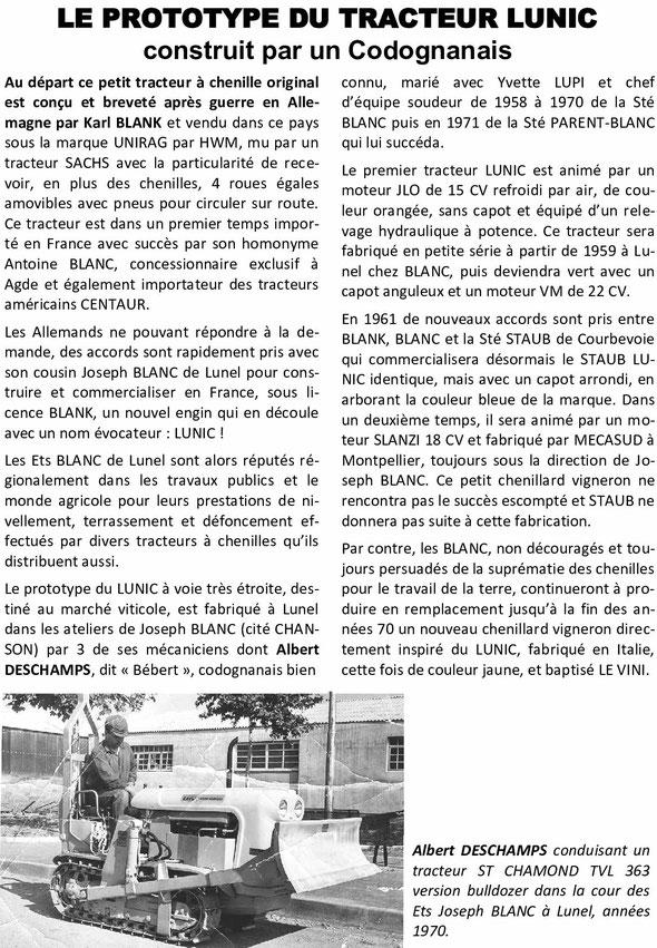 Petit extrait d'un livret sur l'histoire des tracteurs par Michel Gaufre , la fin parait inexacte , il n'existe qu'un Le Vini qui a été fabriqué en Italie ...