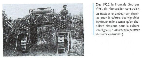 """Livre """"100 ans de tracteurs à chenilles"""""""