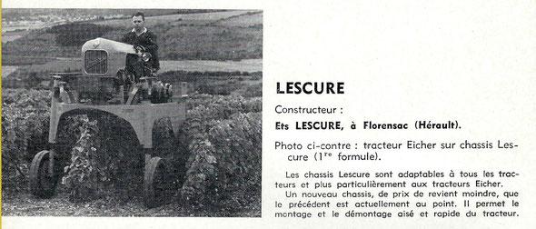 """Sur le livret """"Motoviticulture"""" 1963"""
