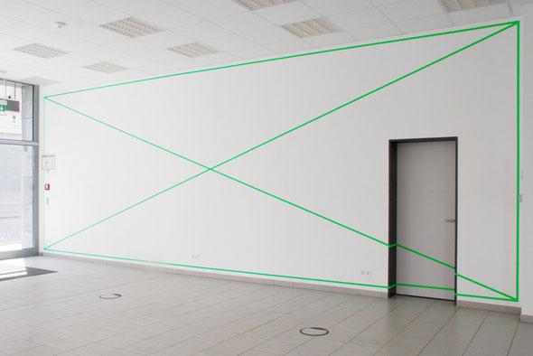 UNBENANNT 2014, Installationsansicht Zentralgalerie, Leipzig, 2014