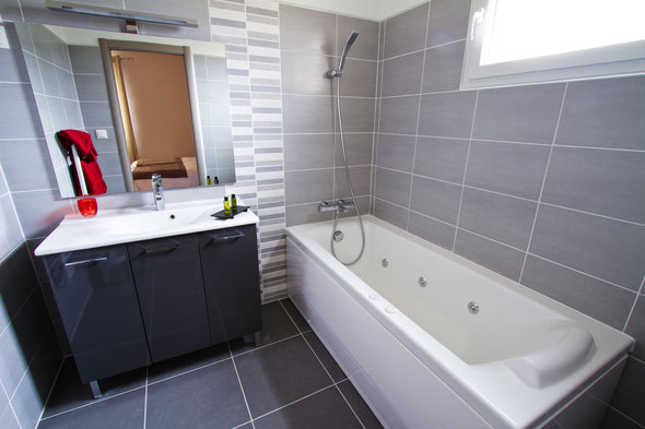 Bathroom of service plus bedroom