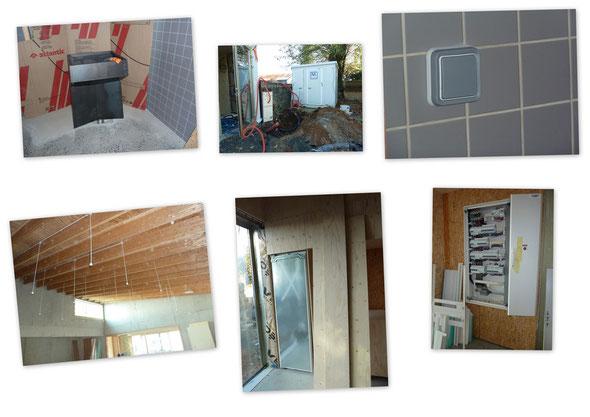 Quelques vues des travaux en cours le 10 novembre 2011