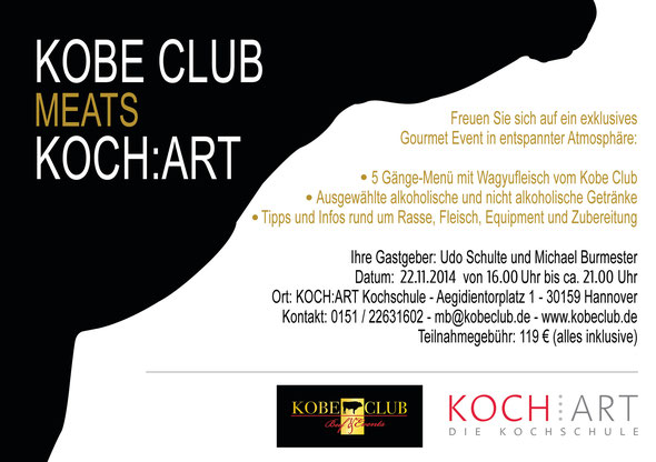 Kobe Club Event am 22.11.2014