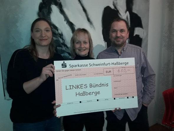 Foto: Th. Dietzel; von links nach rechts: Petra Tempert, Sabine Dreibholz, Manfred Landig