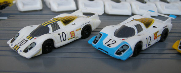 Porsche 917 Le Mans1969 #10, 12