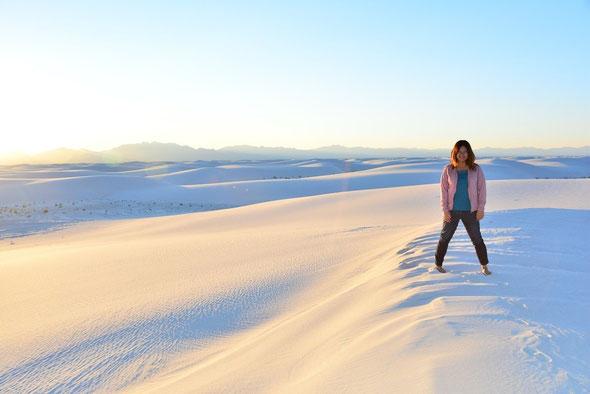 ニューメキシコ州:ホワイトサンズ