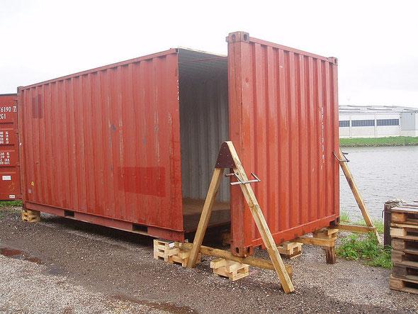 Морской контейнер 20 фт. кафе