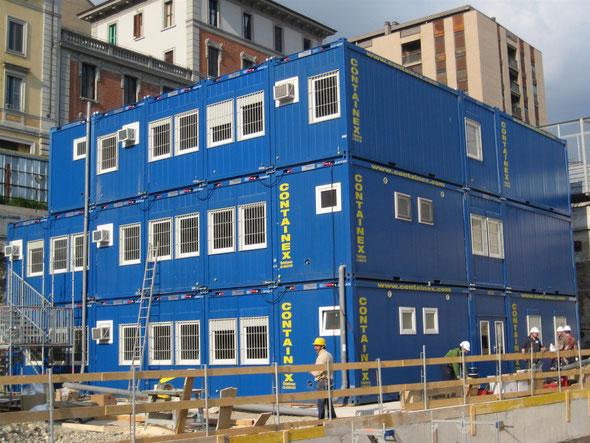 Временное модульное здание Containex