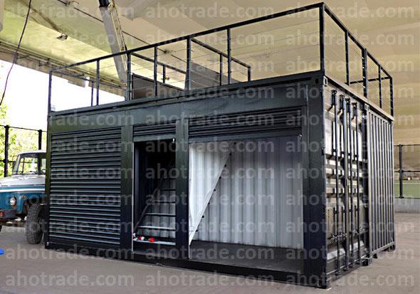Павильон с открытой площадкой
