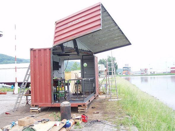 Эксклюзивное кафе из контейнера