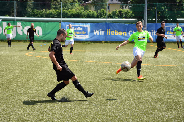 Relegation: BSC Rapid Chemnitz II vs. FCW