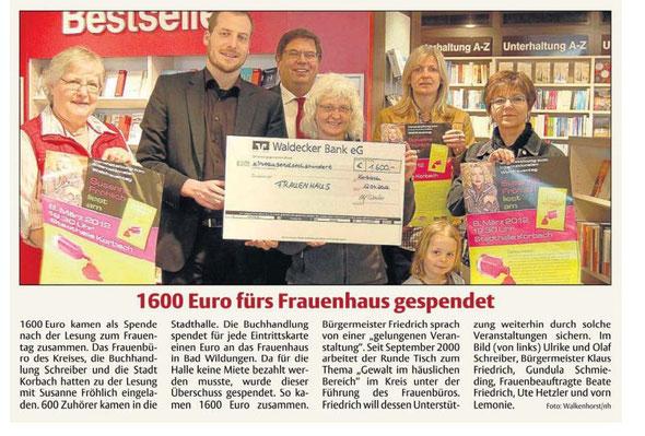 HNA Hessische Allgemeine vom 20.04.2012