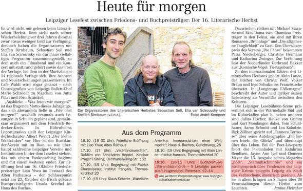 LVZ Ausgabe vom 10.10.2012