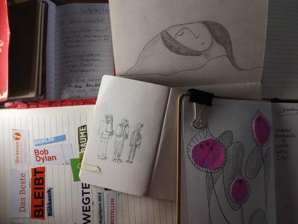 schreiben zeichnen sammeln
