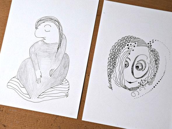 Zentangles zeichnen: Meditation und Selbstfindung...