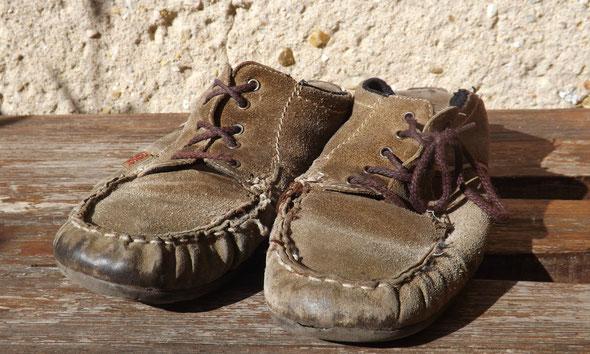 ausgelatschte Schuhe